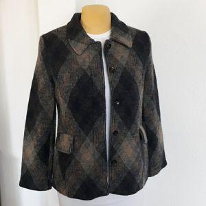 Karen Hart 100% wool jacket  size M